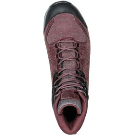 VAUDE TRK Skarvan Mid STX Naiset kengät , punainen